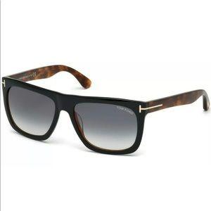 Tom Ford Sunglasses TF0513 MORGAN 05B Black/Havana